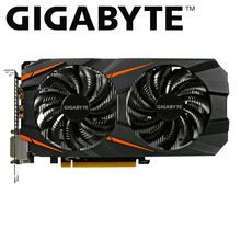 GIGABYTE gtx 1060 6gb Grafik Kartı NVIDIA Geforce gtx1060 GDDR5 192 Bit oyun pc kullanılan ekran kartı