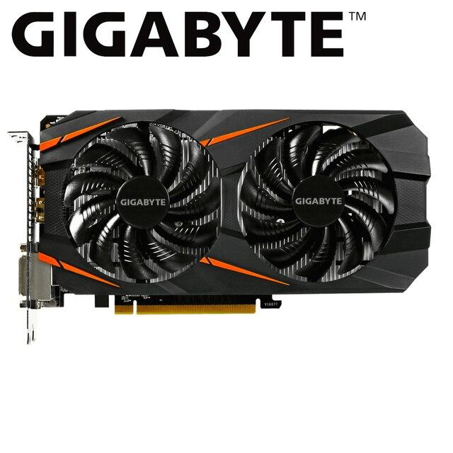 GIGABYTE gtx 1060 6gb Scheda Grafica NVIDIA Geforce gtx1060 GDDR5 192 Bit di gioco pc utilizzato scheda video