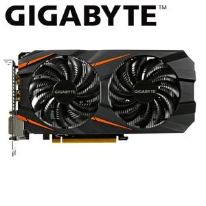 GIGABYTE gtx 1060 6gb karta graficzna NVIDIA Geforce gtx1060 GDDR5 192 Bit komputer do gier używana karta wideo
