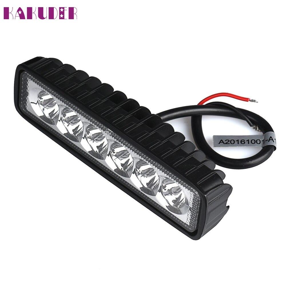 New  18W LED Light Work Bar Lamp Driving Fog Offroad SUV 4WD Car Boat Truck DEC14 чайник электрический gorenje k17tre