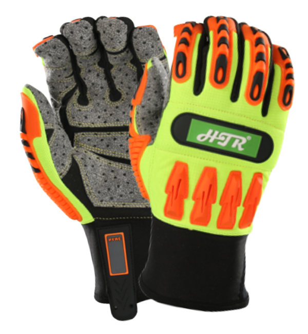 Kind-Hearted Impact Resistant Oilfield Safety Gloves Anti Impact Mechanics Gas Industrial Rigger Work Gloves Safety Gloves Security & Protection