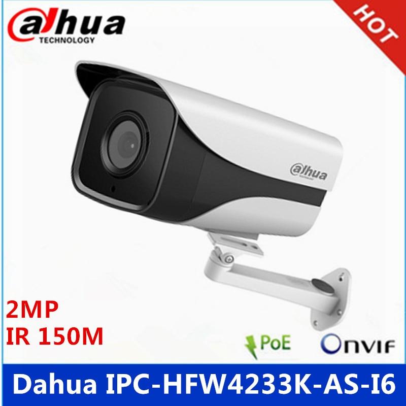 Surveillance Cameras Selfless Dahua Ipc-hfw4233k-as-i6 2mp Starlight Camera Ip67 Ir150m Built-in Audio And Alarm Interface Ip Camera With Bracket
