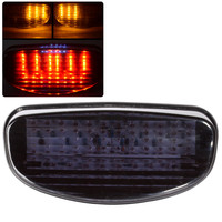 New Smoke Motorcycle LED Tail Turn Light 12V High Quality ABS Plastic Tail Light For Honda