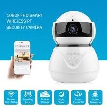 SANNCE 1080 P беспроводная Wifi ip-камера Full HD Домашняя безопасность детский монитор Мини Сетевая камера видеонаблюдения IRCut ночного видения CCTV
