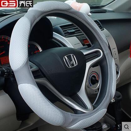 Cubierta del volante del automóvil tapicería de auto decoración - Accesorios de interior de coche - foto 2