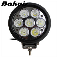Bakuis Round Shape 6 Inch 70w LED Driving Light High Power LED Work Light for Tractor LED Headlights