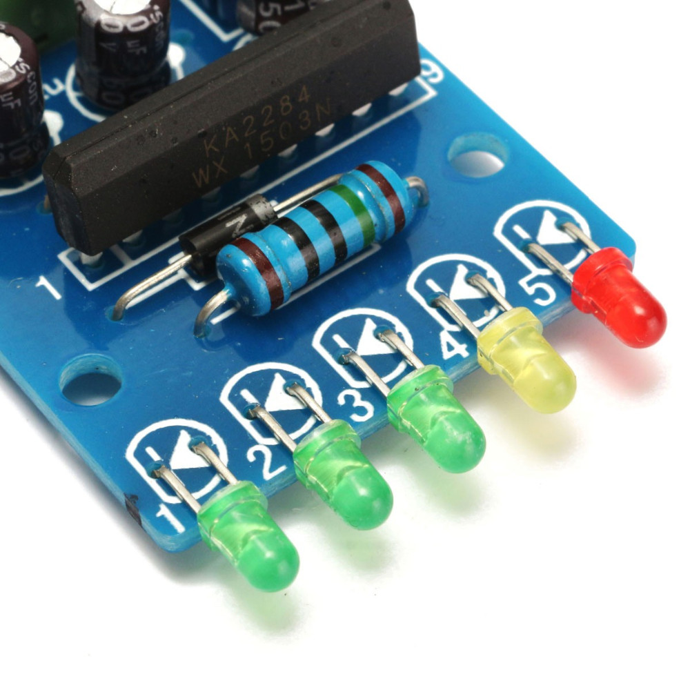 5 Led Vu Meter Driver Module Audio Level Indicator Power Board Indicating In Parts Accessories From Toys Hobbies On Alibaba