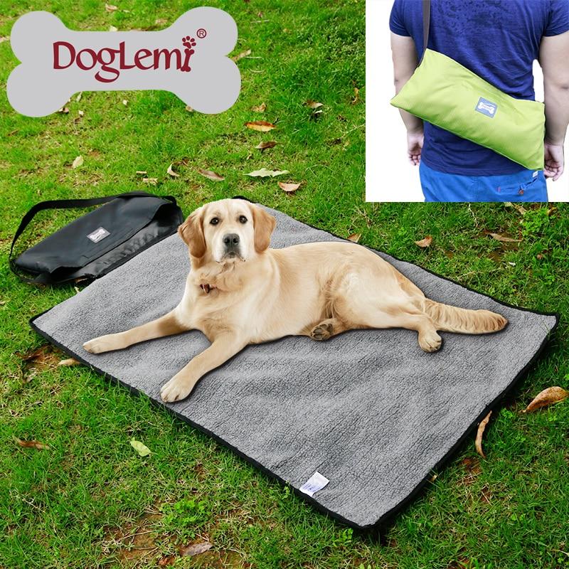 Doglemi Hundebett Outdoor Tragbare Decke Mittelgroße - Haustier-Produkte