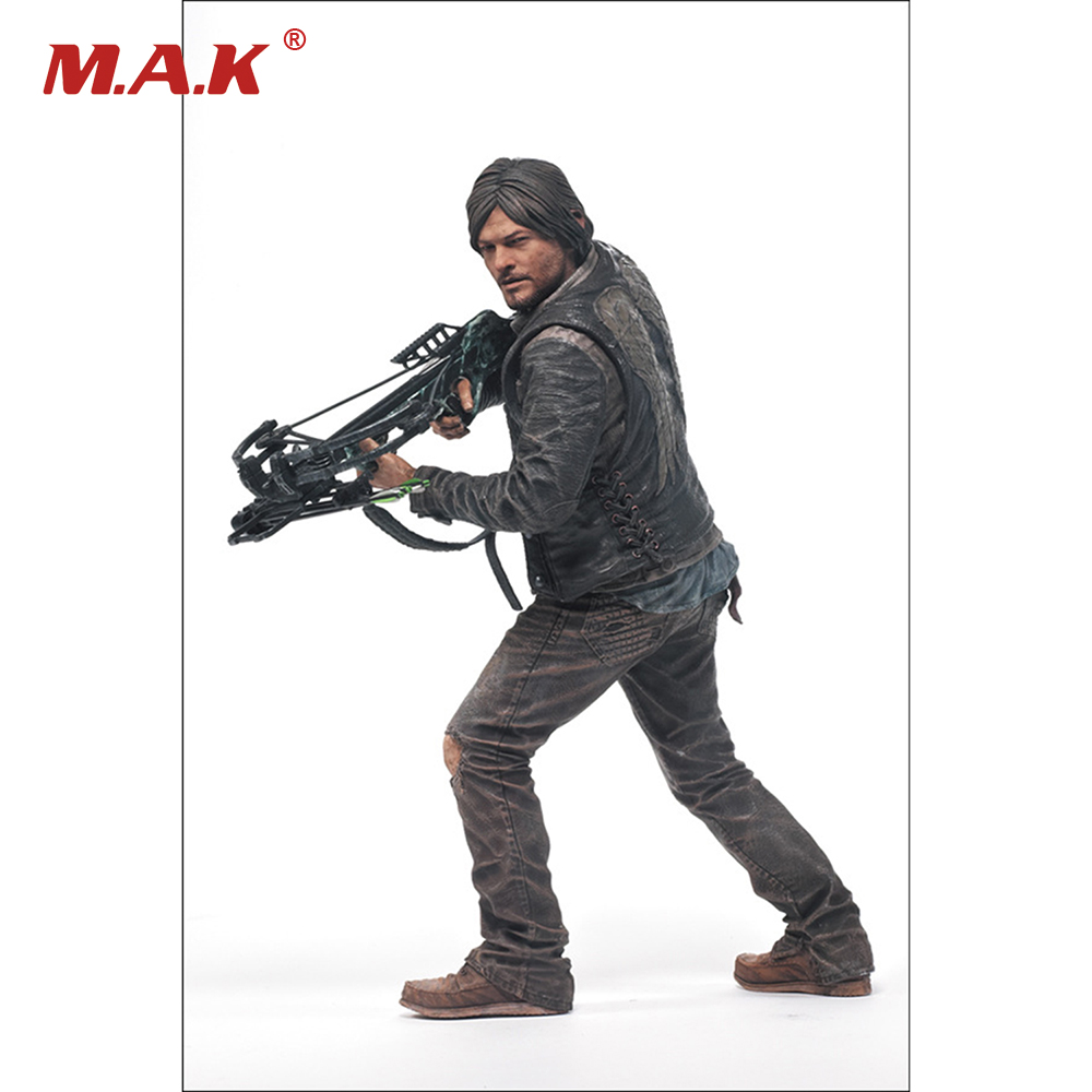 10 Inches TV Series The Walking Dead Daryl Dixon Deluxe PVC Action Figure Collection Model Boys Toys 25CM