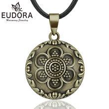 Винтажное бронзовое ожерелье eudora со звуком гармонии подвеска