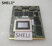 Шели для Dell M6600 N v i d Я 3000 м 2 ГБ Gddr5 видео Графика карты CN-0RDJT7 0RDJT7 RDJT7
