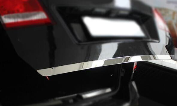 Pour Fiat Freemont pour Dodge Journey 2009-2016 Chrome coffre arrière couverture de porte arrière garniture queue porte moulage style autocollant