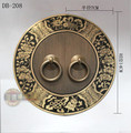 140 mm chinês mobiliário antigo gaveta do armário alça de cobre rodada decorativo DB-208
