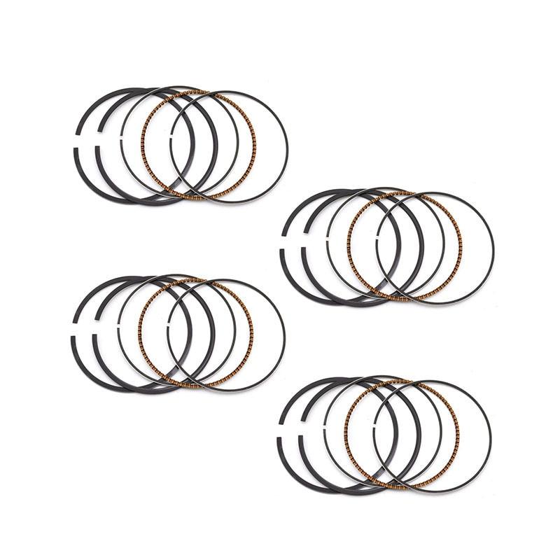 STD 49 +50 49.5mm Piston Rings for Suzuki GSX250 GSX250R