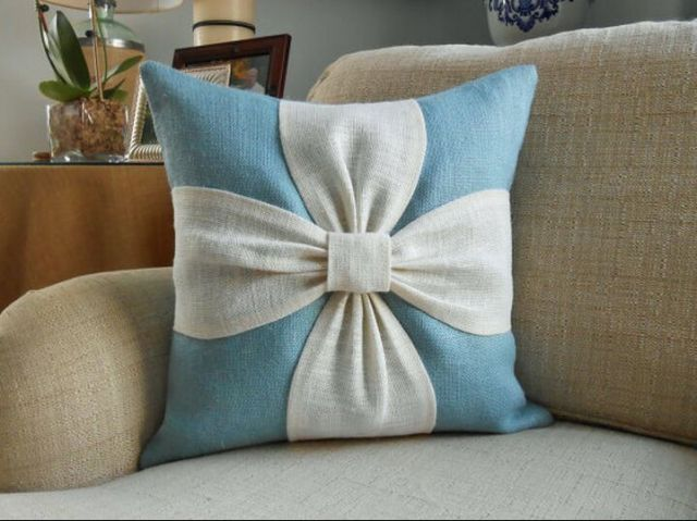 Elegant Applique Small Chrysanthemum Pillow Cushion Lumbar Pillow Sofa Pillow Car  Pillow Car Cushion Cover