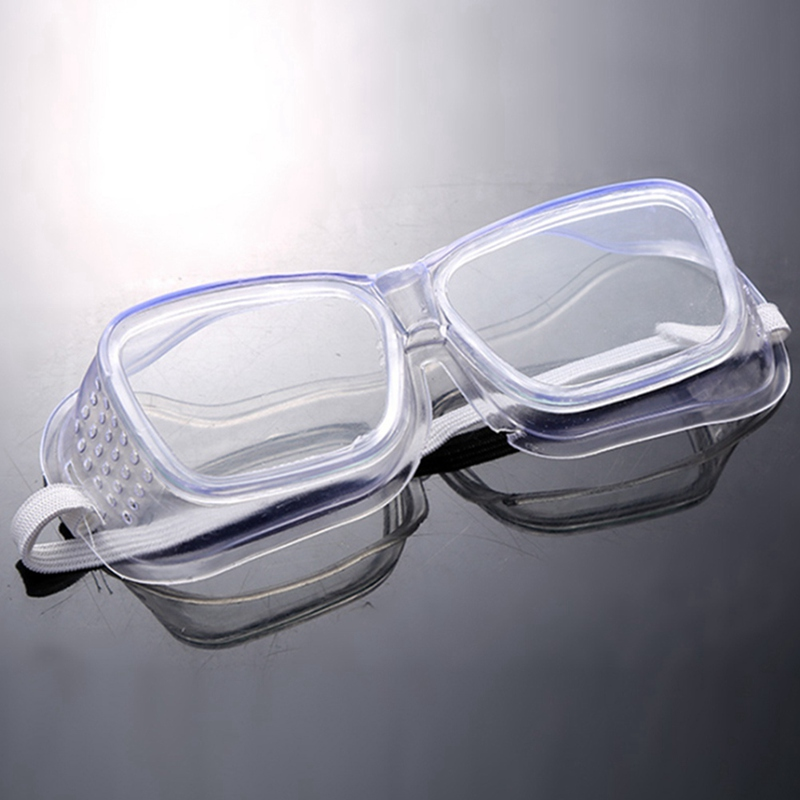 Safety Goggles Vented Glasses Eye Protection Protective Lab Anti Fog Dust Clear For Industrial Lab Work Soft Edge Goggles