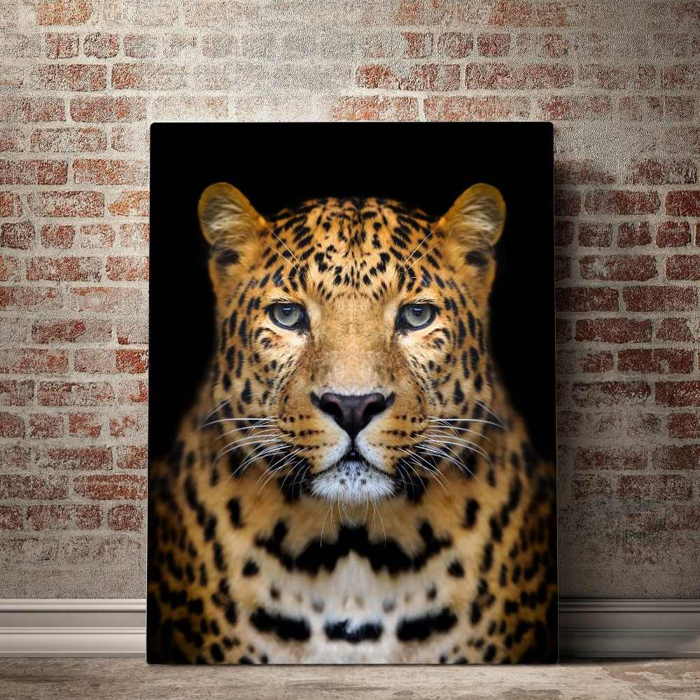 Nordic Canvas Painting Beautiful Jaguar Animal Cuadros Decoracion Paintings on Canvas Wall Art for Home Decorations Wall Decor