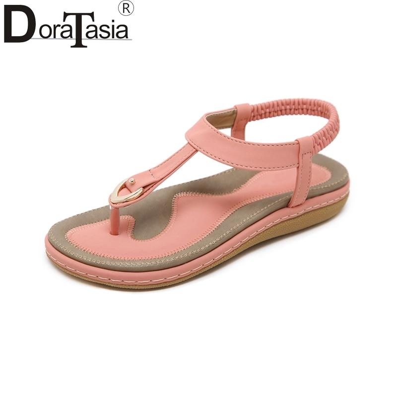 DoraTasia 2018 Moda de alta calidad de gran tamaño 35-45 Nuevas - Zapatos de mujer - foto 1