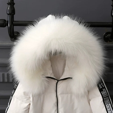 MIARA.L Universal simulation fur collar raccoon cap big womens singles white fox wholesale