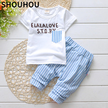 2015 lovely new Boys clothing set kids sports suit children tracksuit girls T shirt pants baby sweatshirt gogging casual clothes