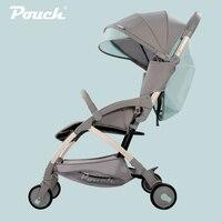 Мешок 6.8 кг легкий Портативный Детские коляски для трон, позволен в самолет коляски, может сидеть и лежат Детские Коляски Baby buggys