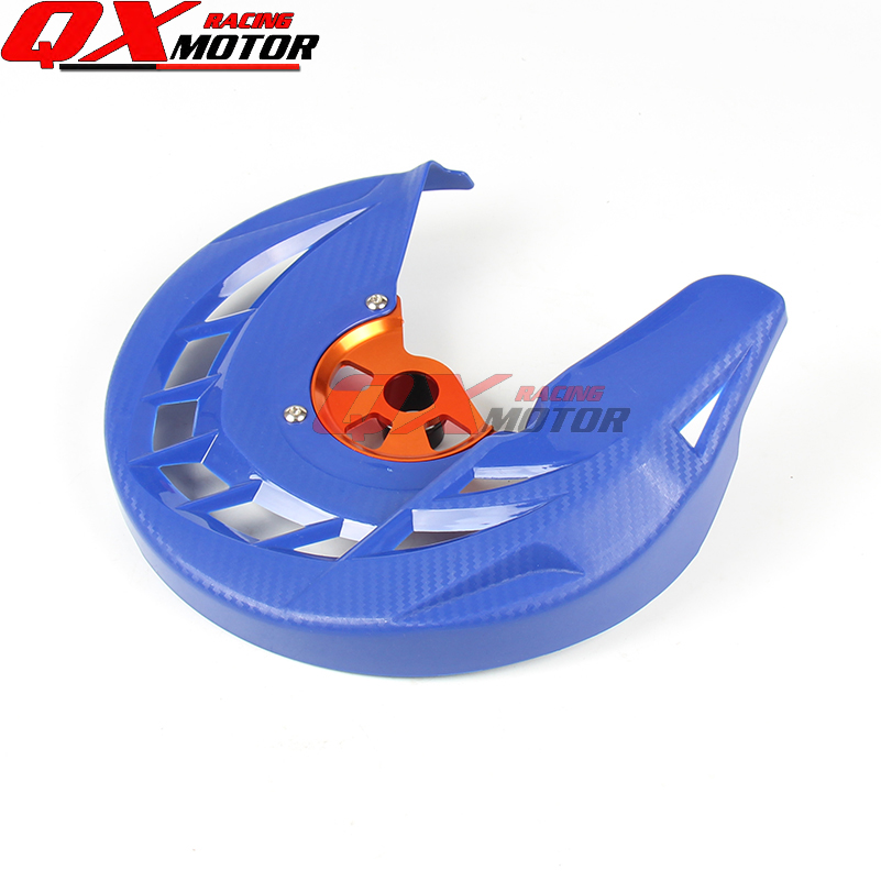 Motorcycle Front Brake Disc Rotor Guard Cover Protector Blue Fit KTM SX SXF XC XCF EXC EXCF 125 200 250 300 350 450 530 cnc stunt clutch lever easy pull cable system for ktm exc excf xc xcf xcw xcfw mx egs sx sxf sxs smr 50 65 85 125 150 200 250