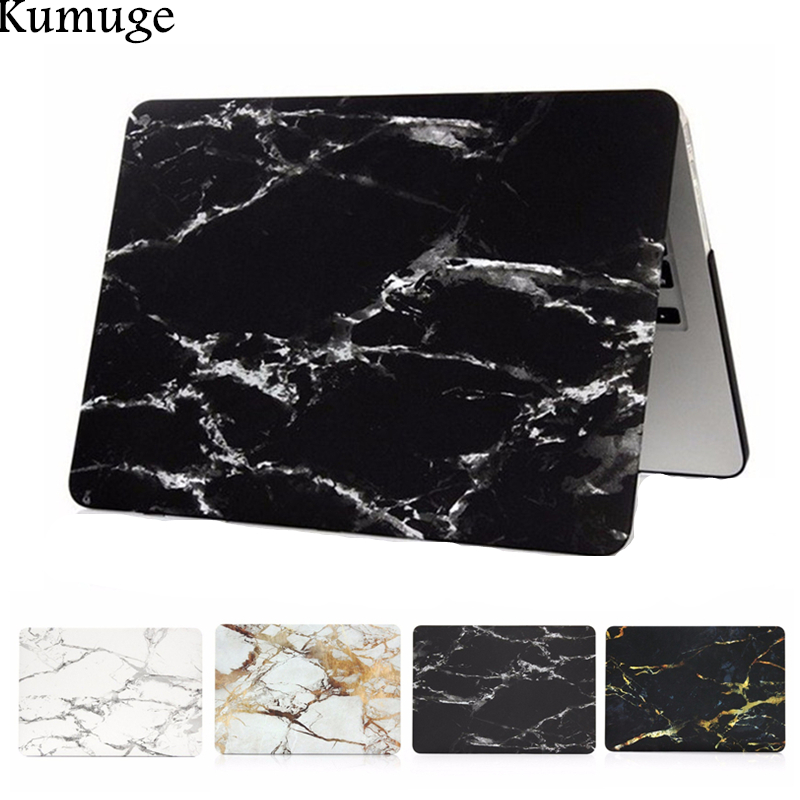 Matte Marble Pattern Laptop Case for Macbook Air 11 13 Cover Pro Retina 12 13 15 Laptop Bag for Mac Pro 13 15 with Touch Bar
