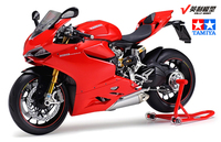 When Tamiya Model Motorcycle Ducati Ducati 1199 1:12 Panigle S 14129. Model Buiding Kits