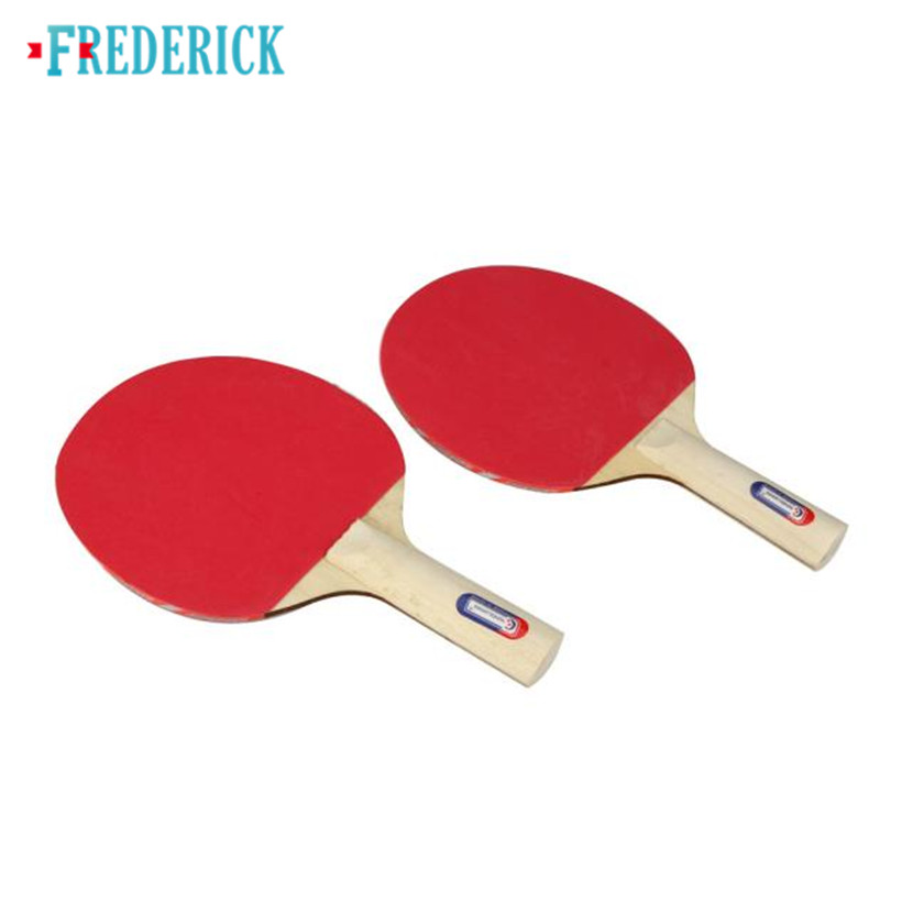 Frederick Table Tennis and Grid Ping Pong Racket Two Sides Sponge Long Handle for Child Can be purchasing 2017 1PC