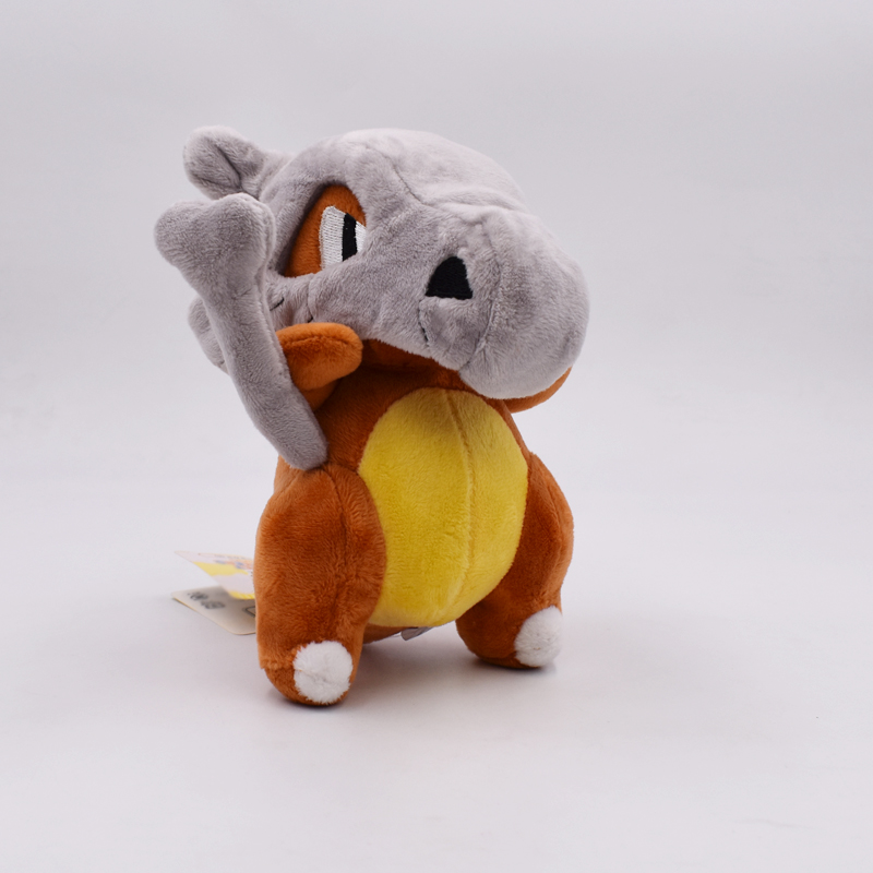 купить 18cm Doll Cubone Osselait Plush Toy Stuffed Dolls Peluche Gifts for Children Free Shipping недорого