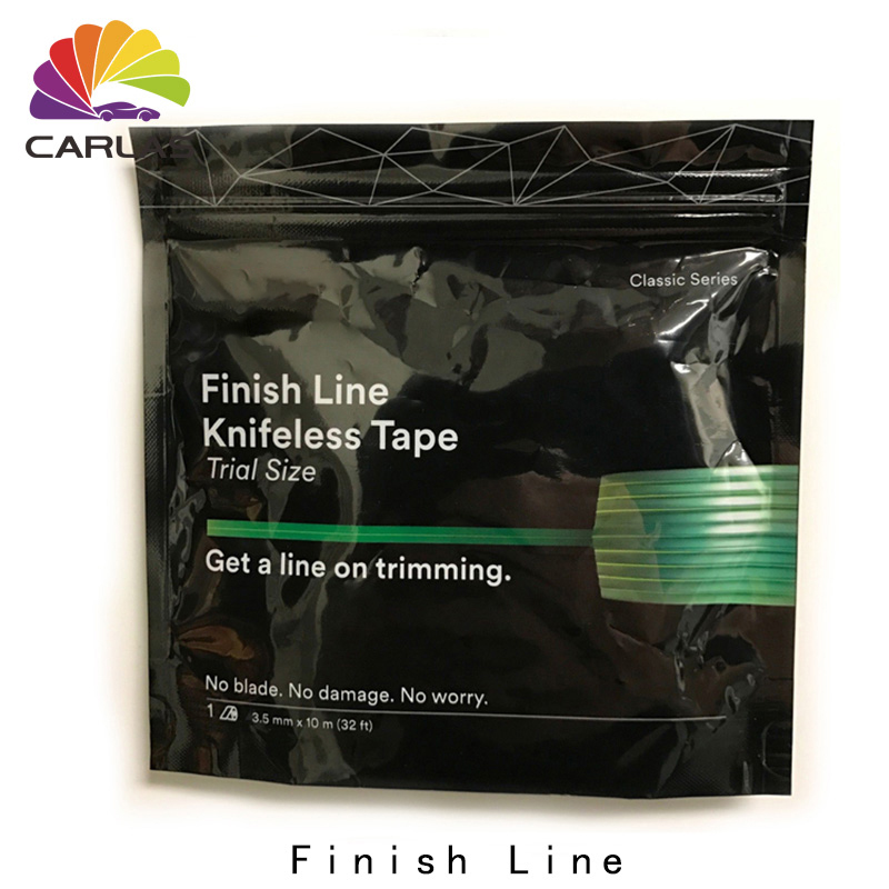 Image 2 - 3.5mmx50m Self Adhesive Car Vinyl Film Cutting Tools Finish Line Knifeless Tape-in Car Stickers from Automobiles & Motorcycles