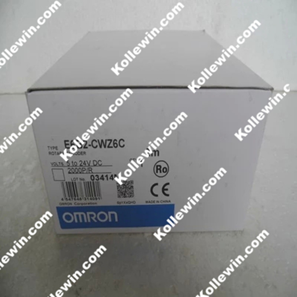 Freeshipping  1PC OMR Incremental  Rotary Encoder E6B2-CWZ6C 2000P/R NEW  in Box, ABZ PHASE  2000PPR  E6B2-CWZ6C, 5-24VDC цена 2016