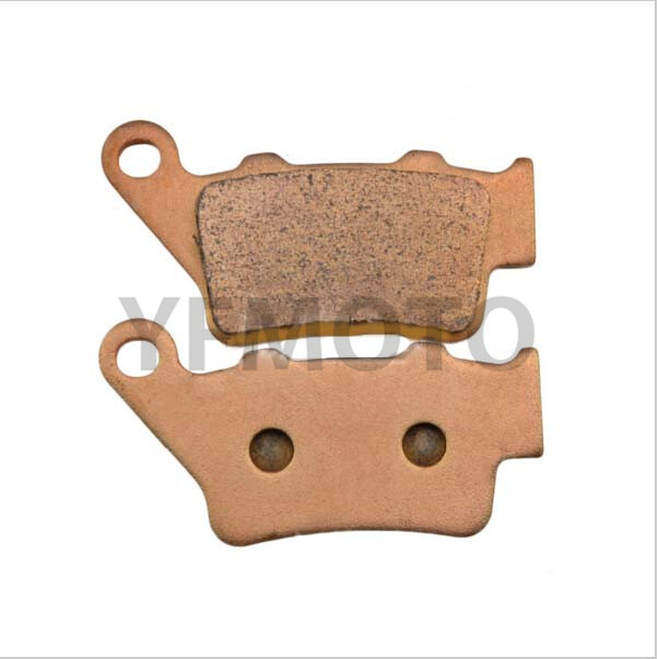 1 Pair Motorcycle Parts Copper Based Sintered Brake Pads For BMW F650GS F 650GS F650 GS F 650 GS 1999-2011 Rear motorcycle parts copper based sintered motor front