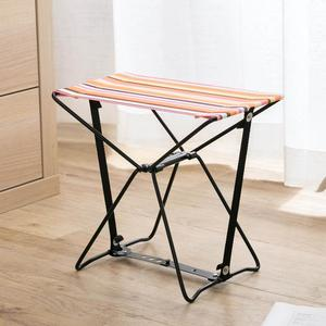 Image 5 - กลางแจ้งพับเก้าอี้พับเก้าอี้สตูลตกปลารถไฟ Bench เก้าอี้ชายหาดแบบพกพา 1 กระเป๋าเก็บฟรี