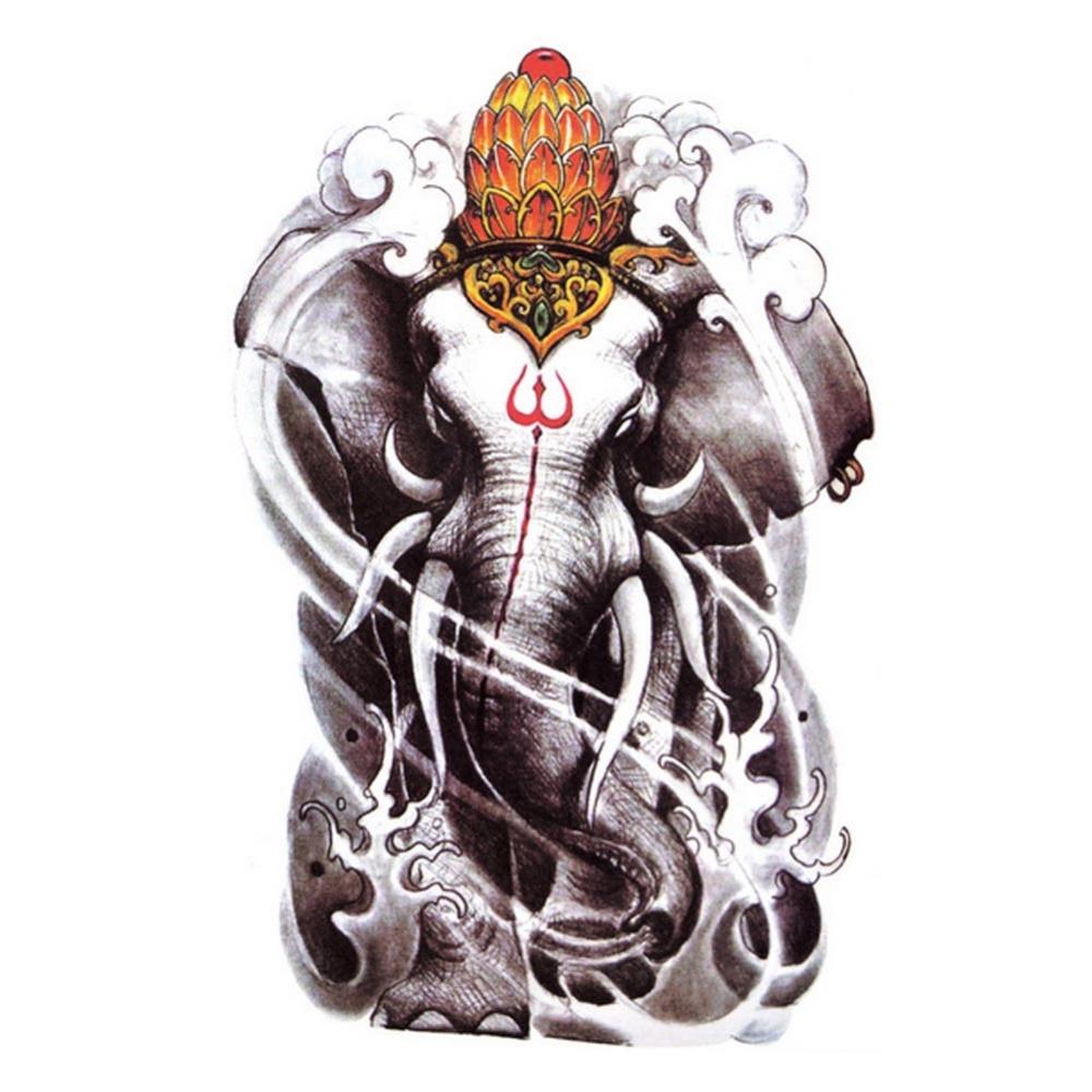 Aliexpress Com Buy India Elephant God Tattoos Cool: Hot Sale Euramerican Style 2016 Individual Tattoo Stickers