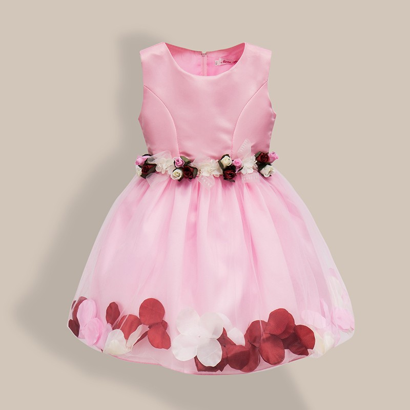 AiLe Rabbit  New Girls Wedding Dress Petal Flower Party Dress - Children's Clothing - Photo 3