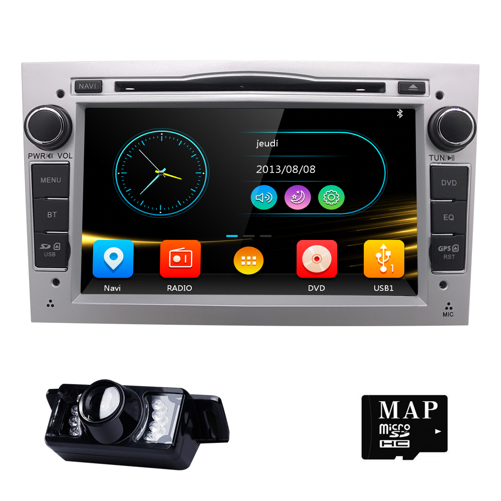 2 din 7''Car DVD Stereo for Vauxhall Opel Astra H G Vectra Antara Zafira Corsa DVD GPS Navi Radio 3color SWC BT DAB DVBT RDS CAM 4 gb ram android 8 0 car dvd gps radio stereo for opel vauxhall astra h g j vectra antara zafira corsa