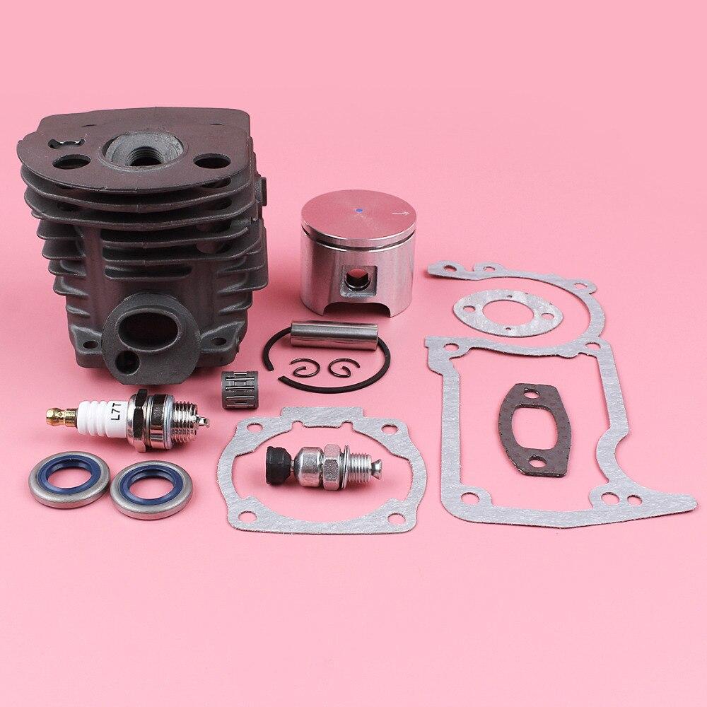 Husqvarna 55 spark plug 55 Rancher cylinder kit overhaul kit 46mm oil seals