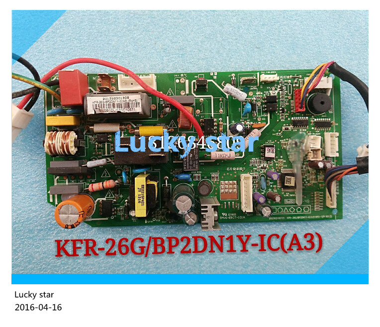 Подробнее о 95% new for Air conditioning computer board circuit board KFR-26G/BP2DN1Y-IC(A3) good working 95% new for air conditioning computer board circuit board kfr 26 32 35g bp2dn1y f good working