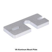 2PCS 3D printer accessory Reprap 3D V6 Hot End Aluminum Mount Plate for Makergear J head