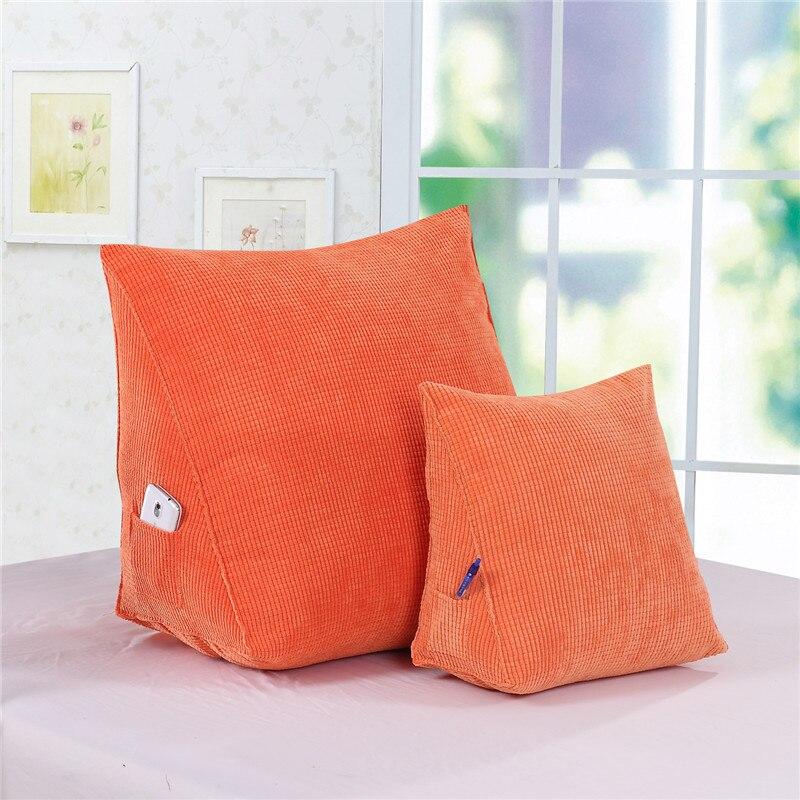 Comfort Kussen Hoogezand.Kopen Goedkoop Rugkussen Driehoekige Kussens 60 50 30 Corn