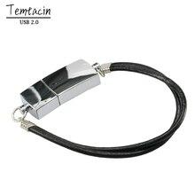 Классический браслет USB флэш-память USB палка ручка большой палец герметичный металлический USB флэш-накопитель 4G 8G16g 64G внешний накопитель