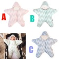 Fashion infant sleeping bag envelope winter sleepwear thick baby blanket