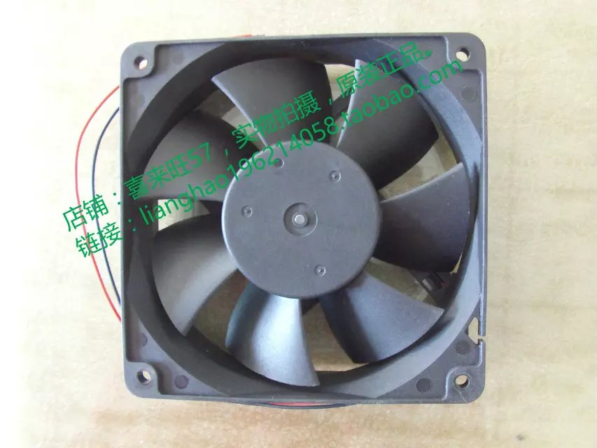 Emacro For CROWN AGE12038B12H Server Square Fan DC 12V 1.05A 120x120x38mm 2-wire emacro for psc p1124020mb1a server square fan dc 12v 100ma 1 2w 40x40x20mm 3 wire