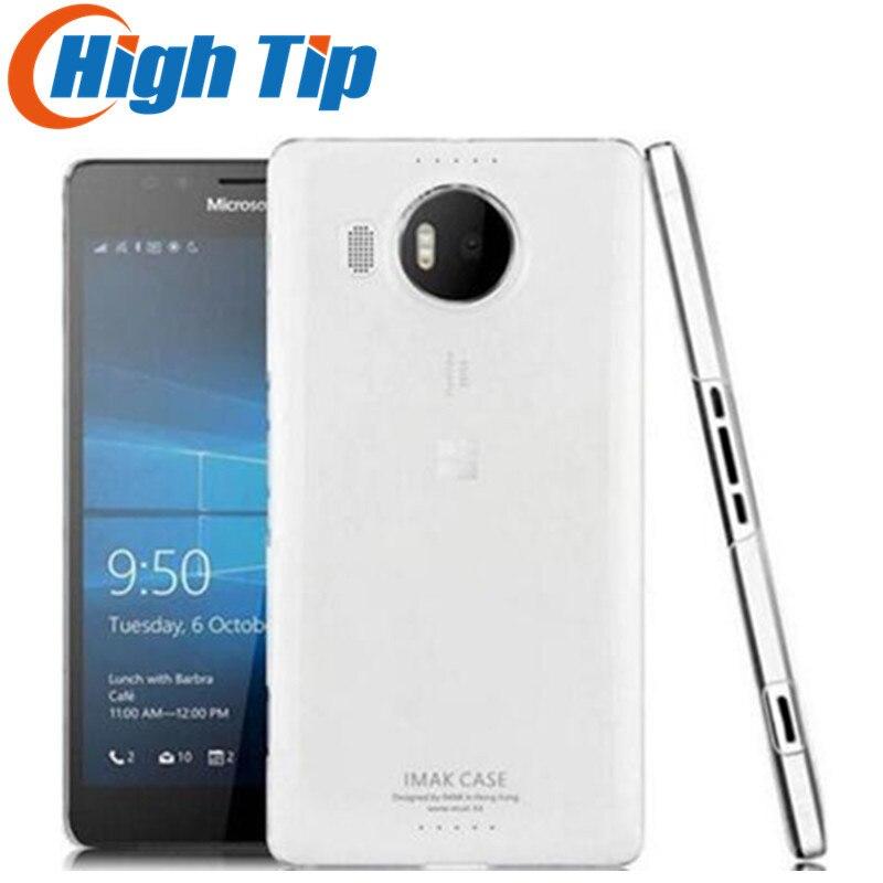 Débloqué Original Nokia Microsoft Lumia 950 5.2 pouce Quad Core LTE 32 gb ROM 20.0MP Windows Mobile Téléphone Portable Remis À Neuf