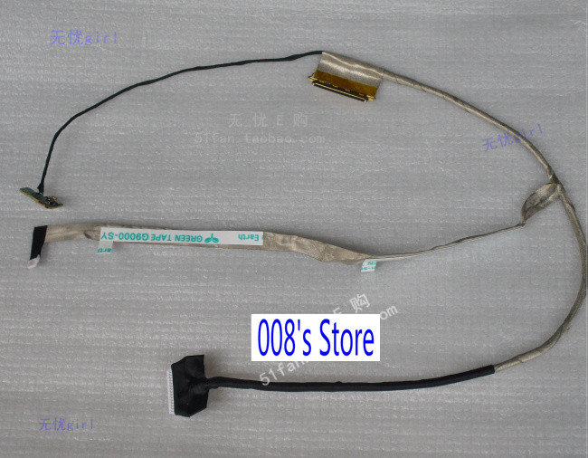 New LED LCD LVDS Cable For SAMSUNG Q470 NP500 NP500P4C NP500P4A NP 500P4C 500P4A BA39-01231A Display Screen Ribbon Flex
