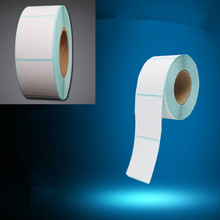 1volume 30 * 37 800 Thermal stickers label printing paper supermarket electronic bar code