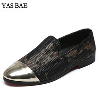 Male china designer brand luxury european casual Footwear Black flat driving loafers Cheap italian style leather Big size Shoes