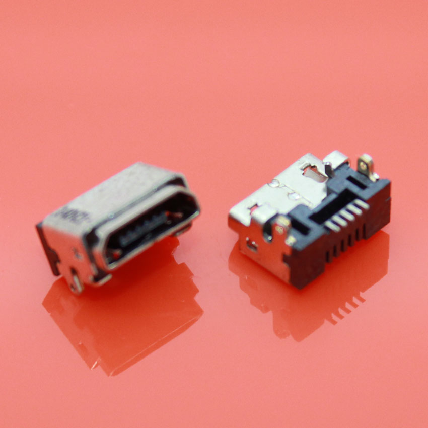 micro 5p USB jack connector for phone charging port for Amazon Kindle Fire