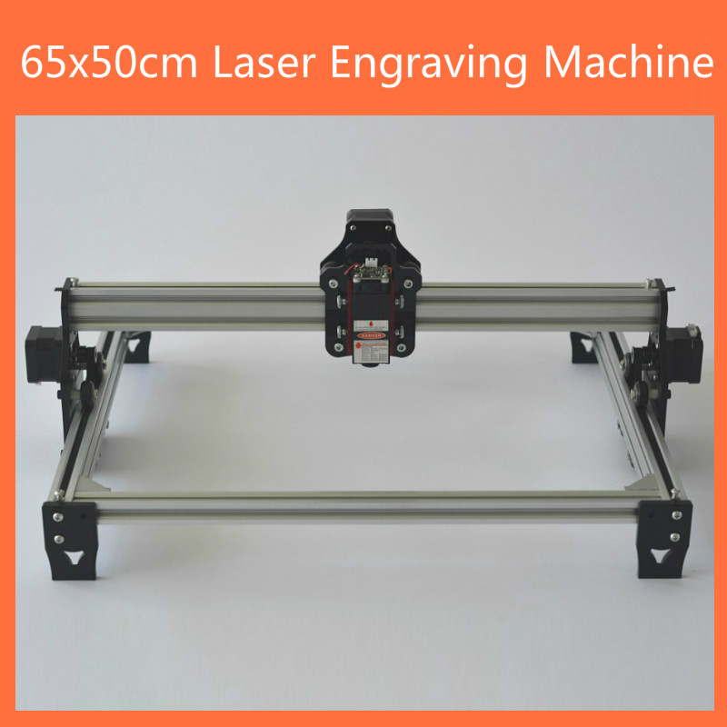 65x50cm Laser Engraving Machine DIY Desktop Laser Marker Printer CNC Engraver Laser Engraving Machine Wood Router